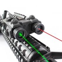 Viseur tactique laser rouge+vert