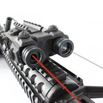 Viseur laser rouge + infrarouge
