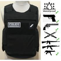Gilet PM noir Niveau IIIA EVOLUTIF  Gilet POLICE / P-M375,00 €