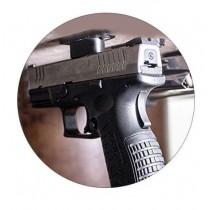 Support magnétique pour armes